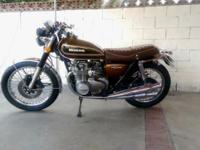 Up for sales is my 1976 Honda CB550F. I did own 250,