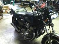 This is a 1981 Honda Cb750. I got the bike non-running,
