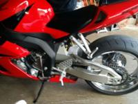 I have a hot Honda cbr 1000 red in color with chrome