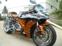 Up for sale is a 2006 Honda CBR 1000RR. Cosmetically