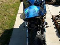 "&^*2005 Honda CBR600RR ""The Resurrection"". Clean"