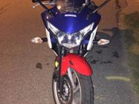 Looking to sell my 2012 Honda CBR 250R. It is in very