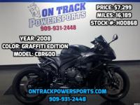 HONDA CBR 600 GRAFFITI EDITION On Track Powersports is