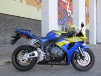 This CBR is a one owner flawless bike, with only 1200