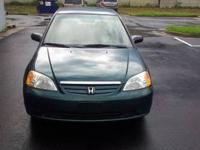 Vehicle Details Year: 2001 Make: Honda Model: Civic