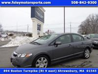 EXCELLENT Fuel Economy!! 2009 HONDA Civic LX Sedan....