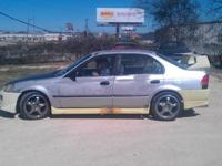 1998 honda civic. rebuilt motor, less then 300 miles