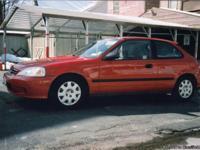 I have 2 Honda's for sale. 1. 1999 Honda Civic