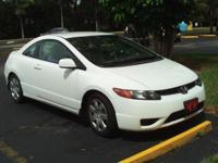 '08 Honda Civic LX, 2 door cpe, ps, pb, car