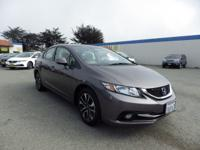 This outstanding example of a 2013 Honda Civic Sdn EX-L