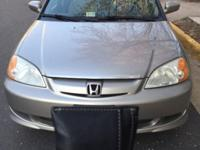 Good car Honda Civic Hybrid, Gold color, great