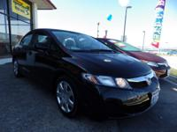 This 2010 Honda Civic Sedan LX is offered exclusively