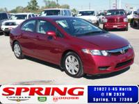 2011 Honda Civic, power windows, power locks, automatic