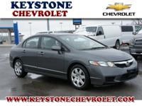 This 2011 Civic LX might be the one for you! This car