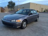 Hey there! I am selling my 1995 Honda Civic. It is a