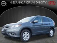 Make your move on this 2012 Honda CR-V EX-L. It comes