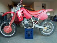 *** HONDA CR500R FOR SALE *** * 1-Cylinder * 2-Stroke *