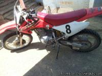 2004 Honda CRF 150 IN GOOD RUNNING CONDITION, TIRES ARE