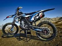 Brand New 2015 CRF450 Motocross Action Project Bike