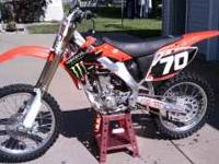 You are looking at a 2006 Honda CRF250R with 26.9hrs on