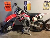 2003 Honda CRF450R Clean bike, runs strong, serviced