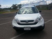 2007 Honda CR-V 5DR 2WD LX. One owner, no accidents,
