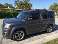 2010 grey/black Honda Element SC, Automatic, 175000