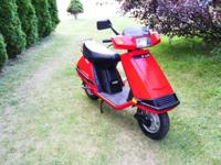 1986 Honda Elite 80 In near mint condition! Title in