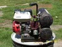 COMPRESSOR GAS POWERED,Thomass compressors ,4 HP Honda