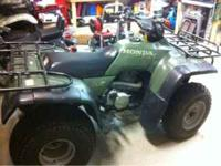 For sale is a '99 Honda Fourtrax 300 2x4 in mint