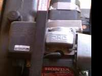 Honda portable 2500 watt generator, 2000 watts