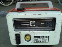 Honda generator for sale. Has not been started in a few