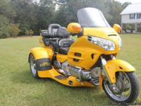 2002 Honda GL1800 GOLD WING Price $23,995 Mileage
