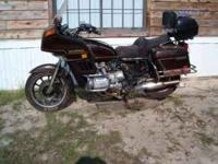 I WANT TO TRADE MY 1983 HONDA GOLDWING INTERSTATE 1100