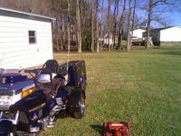 1994 Honda goldwing 1500 SE with a 2013 trike kit and a