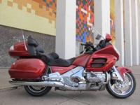 We just traded for this Goldwing, it has a fresh oil