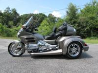 THE BIKE ITSELF IS A VERY NICE 2008 HONDA GOLDWING