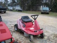 "Honda Harmony Riding Mower, 30"" Cut $425 OBO. Can be"