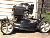 Today I have for sale a Clean used lawn mower. It's