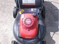 Honda Harmony II, HRR-216, Quarda Cut System with