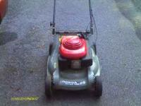 easy start honda harmony push mower for sale 75 dollars