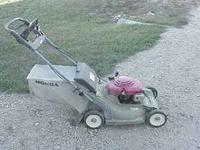 I have a used Honda self propelled mower that runs good