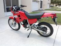 HONDA 88'NX250 DUAL SPORT IN RARE RED, FIRST YEAR MODEL