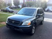 For sale is a 2005 Honda Pilot EX-L with DVD/Video