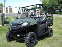 THE ALL NEW HONDA PIONEER SXS700-4 side by side is