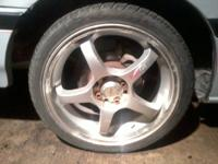 "Hello there. We have a 5 star Excel 17"" wheel set for a"