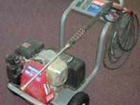 Honda Pressure Washer. This pressure washer is in good