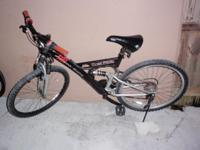 "MOUNTAIN BICYCLE, 26"", DUAL SUSPENSION, ""HONDA RACING"