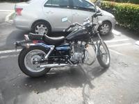 Marketing My Honda Rebel 250cc Motorcycle. It is in