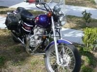 I HAVE A 2003 HONDA REBEL 250, WITH 5712 MILES AND I